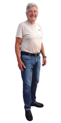 André Paroz aus Leubringen BE nach dem Abnehmen mit ParaMediForm