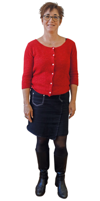 Stéphanie  Feusier aus Corgémont nach dem Abnehmen mit ParaMediForm