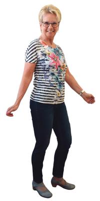 Therese Baur de Lyss (BE) après avoir perdu du poids avec ParaMediForm