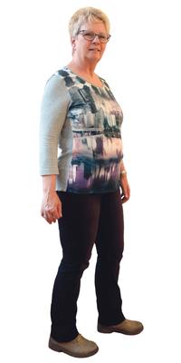 Therese Baur de Lyss (BE) avant de perdre du poids avec ParaMediForm