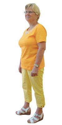 Sonja Schaffer de Gerolfingen après avoir perdu du poids avec ParaMediForm