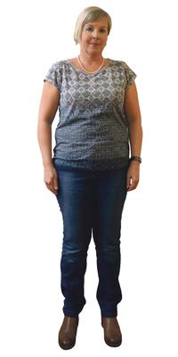 Daniela Sallin de Orpund avant de perdre du poids avec ParaMediForm