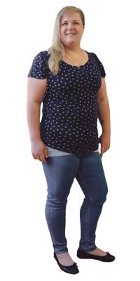 Brigitte Grundmann de Grossaffoltern après avoir perdu du poids avec ParaMediForm