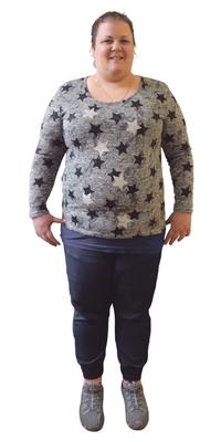 Brigitte Grundmann de Grossaffoltern avant de perdre du poids avec ParaMediForm