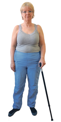 Suzanne Lavigne de Sutz BE avant de perdre du poids avec ParaMediForm
