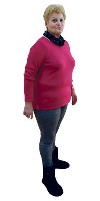 Maria Pilar Patricio de Bienne après avoir perdu du poids avec ParaMediForm