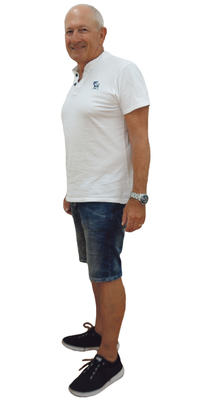 Marco  Zumwald de Ipsach BE après avoir perdu du poids avec ParaMediForm