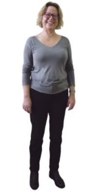 Anita Jung de Sutz-Lattrigen BE après avoir perdu du poids avec ParaMediForm