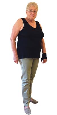 Therese Gasser de Bienne avant de perdre du poids avec ParaMediForm