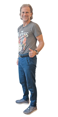 Bruno Reiff de Gerolfingen BE après avoir perdu du poids avec ParaMediForm