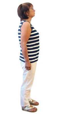 Helga Krekeler de Bienne après avoir perdu du poids avec ParaMediForm