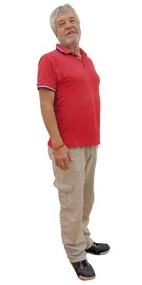 Raymond Schlup de Bienne après avoir perdu du poids avec ParaMediForm