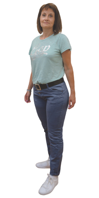 Anne Jungo de Bienne avant de perdre du poids avec ParaMediForm