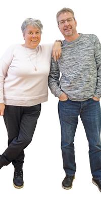 Kurt und Dominique  Müller de Bienne après avoir perdu du poids avec ParaMediForm