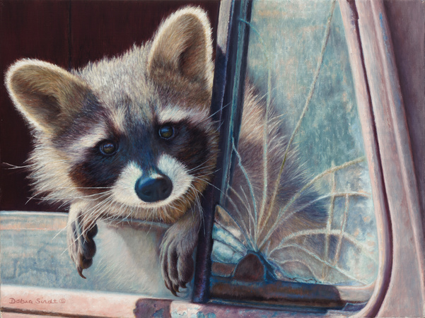 """Are We There Yet"" - 12""x 16"" Oil on Linen-Prints Available, For more Information call: 1.303.816.5415"