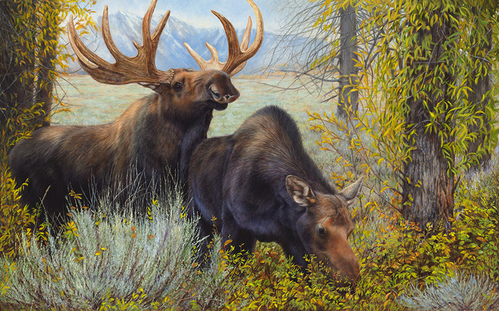 """""""The  Suitor"""" - 30""""x 48"""" Oil on Belgian Linen Original Available, Prints Available"""