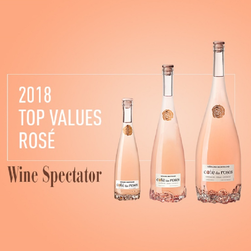 Cote des Roses in Wine Spectator's Top Values 2018