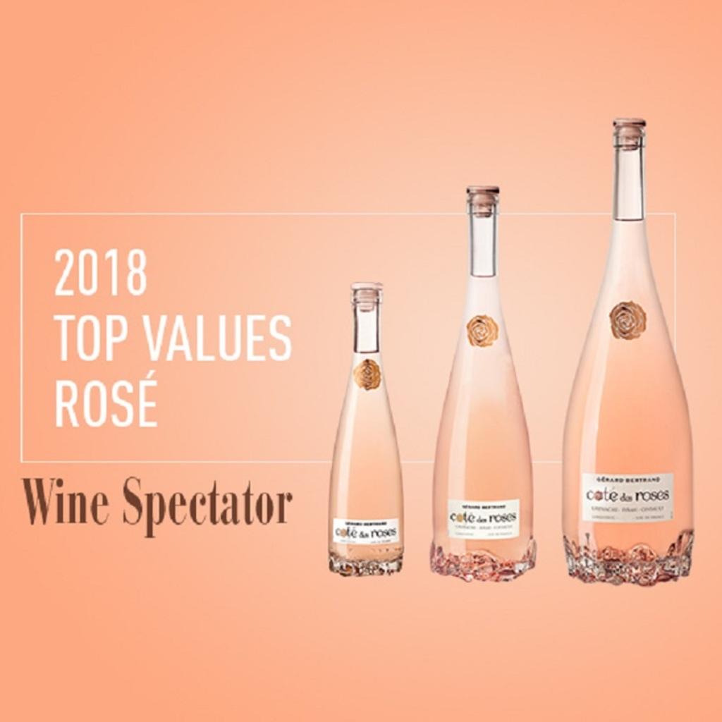 Cote des Roses en el Wine Spectator Top Values 2018
