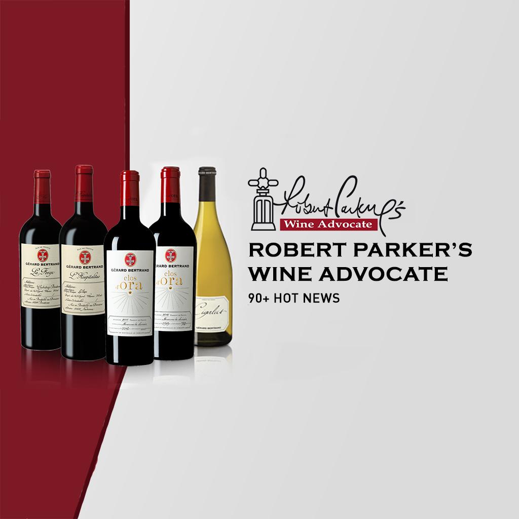 22 vins 90 + robert parker