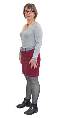 Claudine Ehles aus Delémont nach dem Abnehmen mit ParaMediForm